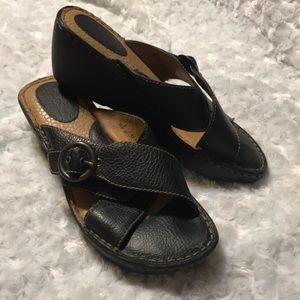 B.o.c. Black sandals size 9